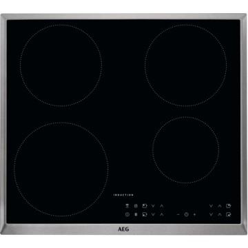 Vestavné spotřebiče - AEG Mastery IKB64301XB indukční varná deska s rámečkem, černá, šířka 58 cm
