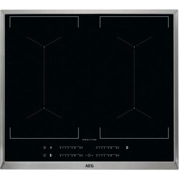 Vestavné spotřebiče - AEG Mastery IKE64450XB indukční varná deska s rámečkem, černá, šířka 58 cm