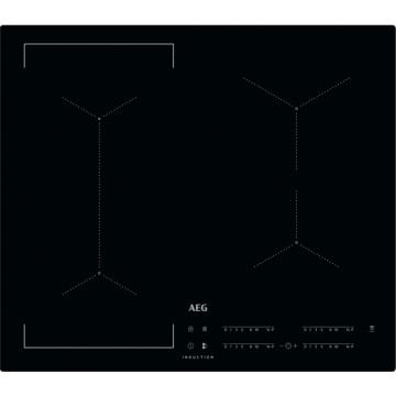 Vestavné spotřebiče - AEG Mastery IKE64441IB indukční varná deska zapustitelná do roviny, Hob2Hood, černá, šířka 58 cm