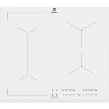 Vestavné spotřebiče - Electrolux EIV63440BW indukční varná deska se zkosenou hranou, barva bílá, 60cm