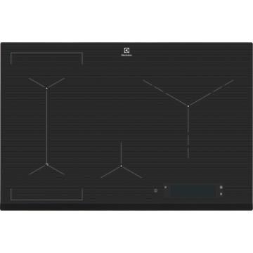 Vestavné spotřebiče - Electrolux EIS84486 indukční varná deska SenseFry, tmavě šedá, 80 cm