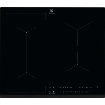 Vestavné spotřebiče - Electrolux EIV634 indukční varná deska se zkosenou hranou, barva černá, 60cm