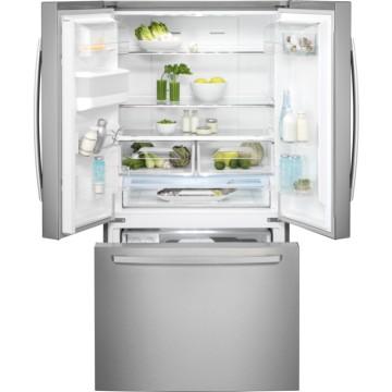 Volně stojící spotřebiče - Electrolux EN6086JOX volně stojící kombinovaná chladnička