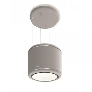 Vestavné spotřebiče - Faber ODETTE GREY MATT KL  - lustrový odsavač, šedá mat, šířka 50cm