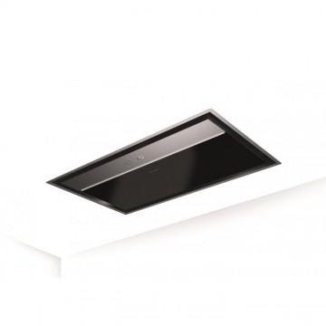 Vestavné spotřebiče - Faber ONYX-C X/V A90  - stropní odsavač, černé sklo / nerez, šířka 90cm