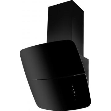 Vestavné spotřebiče - Kluge KOD9010BLG komínový odsavač par, černý, 90 cm