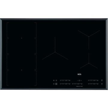 Vestavné spotřebiče - AEG Mastery IKE85471FB indukční varná deska se zkosenou hranou, Hob2Hood, černá, šířka 78 cm