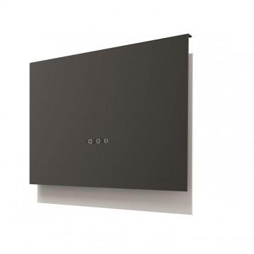 Vestavné spotřebiče - Faber TALIKA DG MATT A80  - komínový odsavač, bílá / tmavě šedá mat, šířka 80cm