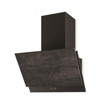Vestavné spotřebiče - Faber GREXIA GRES DG/BK A60  - komínový odsavač, černá / tmavě šedá kamenina, šířka 60cm