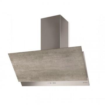 Vestavné spotřebiče - Faber GREXIA GRES LG/X A90  - komínový odsavač, nerez / světle šedá kamenina, šířka 90cm