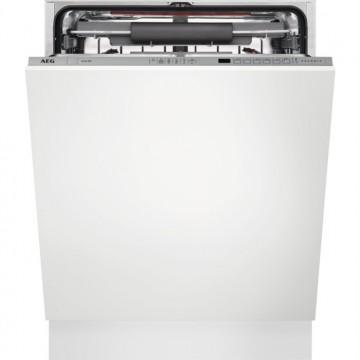 Vestavné spotřebiče - AEG Mastery FSE63700P vestavná myčka nádobí s příborovou zásuvkou, 60 cm, A+++