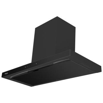 Vestavné spotřebiče - Kluge KOK9031BLG komínový odsavač par, černý, 90 cm