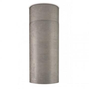 Vestavné spotřebiče - Faber CYLINDRA ISOLA PLUS CONCRETE A37  - ostrůvkový odsavač, imitace betonu, šířka 37cm