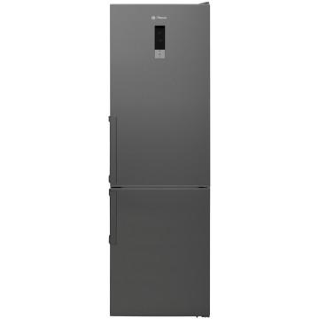 Volně stojící spotřebiče - Romo RCN341LXA++ kombinovaná chladnička, Dual NoFrost, nerez, 4 roky bezplatný servis