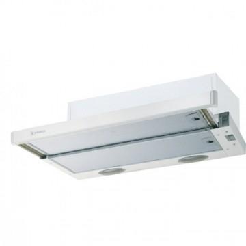 Vestavné spotřebiče - Faber FLEXA W A50  - výsuvný odsavač, bílá / lišta bílá, šířka 50cm