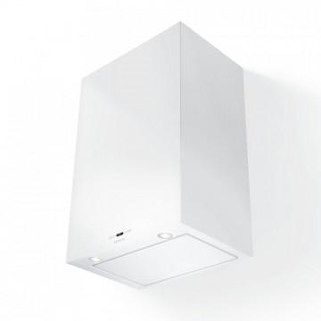 Vestavné spotřebiče - Faber CUBIA GLOSS PLUS EV8 WH A60  - komínový odsavač, bílá, šířka 60cm