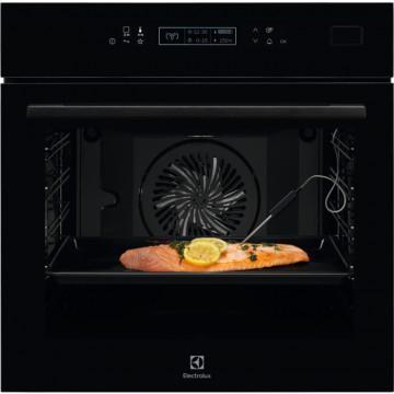 Vestavné spotřebiče - Electrolux EOB8S31Z 800 PRO SteamBoost  parní trouba, černá lesklá, A+