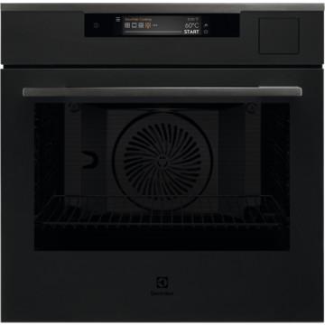Vestavné spotřebiče - Electrolux Intuit KOAAS31WT 900 PRO SteamPro parní trouba, SousVide, Wifi, černá matná, A++