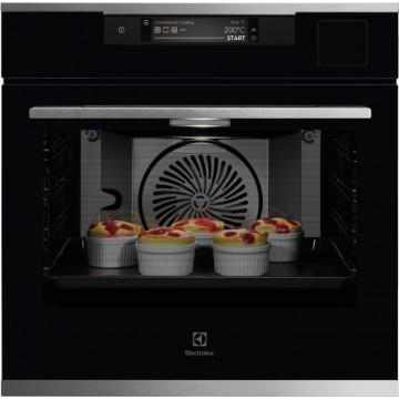 Vestavné spotřebiče - Electrolux KOAAS31CX 900 SENSE CookView parní trouba, SousVide, Wifi, kamera, černá/nerez, A++