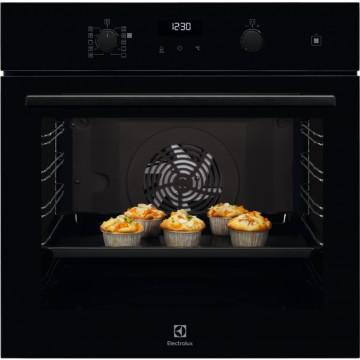 Vestavné spotřebiče - Electrolux EOD6C71Z 600 PRO SteamBake trouba s připařováním, černá lesklá, A+