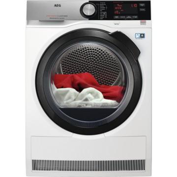 Volně stojící spotřebiče - AEG T8DC49BCS sušička prádla, A++