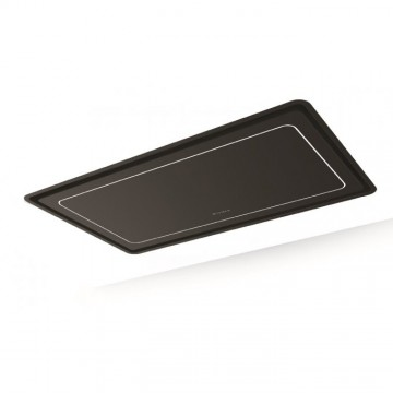 Vestavné spotřebiče - Faber HIGH-LIGHT RAD BRS BK MATT A91  - stropní odsavač, černá mat, šířka 90cm