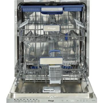 Vestavné spotřebiče - Kluge KVD6020PA+++ plně vestavná myčka nádobí s příborovou zásuvkou; vnitřní osvětlení, šířka 60 cm; A+++, 4 roky bezplatný servis