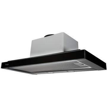 Vestavné spotřebiče - Kluge KOT6202BLG výsuvný odsavač par, černé sklo, 60 cm