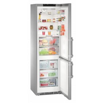 Volně stojící spotřebiče - Liebherr CBNPes 4878, kombinovaná chladnička, nerez, NoFrost, A+++ -20%