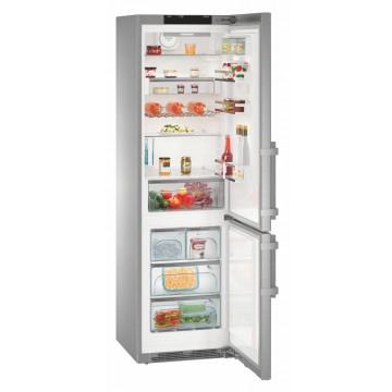 Volně stojící spotřebiče - Liebherr CNPes 4868 volně stojící kombinovaná chladnička, nerez, NoFrost, A+++ -20%