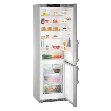 Volně stojící spotřebiče - Liebherr CNef 4825 volně stojící kombinovaná chladnička s mrazákem, nerezový vzhled, NoFrost, A+++