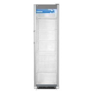 Profesionální chlazení - Liebherr FKDV 4503 prosklená chladnička s ventilátorem, stříbrná