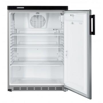 Profesionální chlazení - Liebherr FKvesf 1805 obsah 180 l,stříbrné boky, nerezové dveře