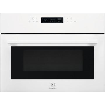 Vestavné spotřebiče - Electrolux EVK8E00V 600 FLEX Quick&Grill kompaktní vestavná mikrovlnná trouba, bílá