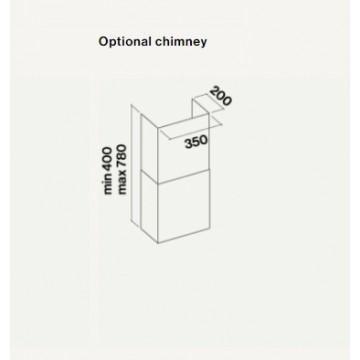 Příslušenství ke spotřebičům - Falmec KOMÍNEK QUASAR GLEAM DIAMANTE FLIPPER nerez