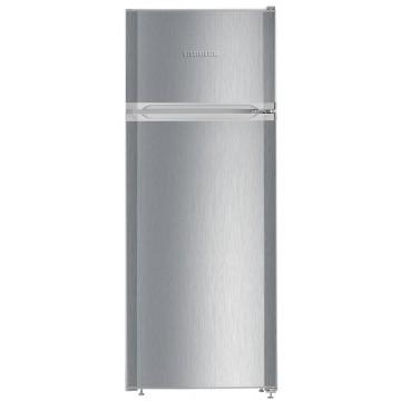 Volně stojící spotřebiče - Liebherr CTel 2531 volně stojící kombinovaná lednice, nerezový vzhled, A++