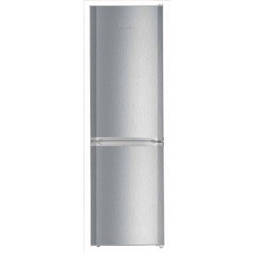 Volně stojící spotřebiče - Liebherr CUel 3331 volně stojící kombinovaná lednička, nerez, A++
