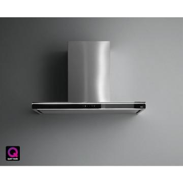 Vestavné spotřebiče - Falmec LUMINA NRS Wall - nástěnný odsavač, 90 cm, černá/nerez, 800 m3/h