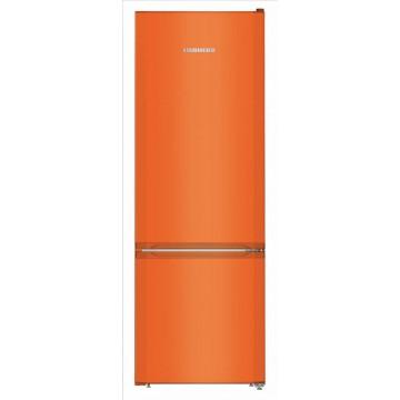 Volně stojící spotřebiče - Liebherr CUno 2831 volně stojící kombinovaná lednička, oranžová, A++
