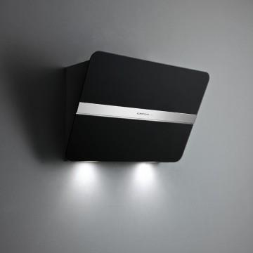 Vestavné spotřebiče - Falmec FLIPPER DESIGN Wall - nástěnný odsavač, 85 cm, 800 m3, černé matné sklo