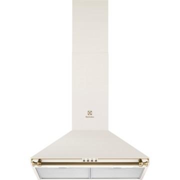 Vestavné spotřebiče - Electrolux EFC226V komínový odsavač par, vanilkový, 60 cm