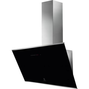 Vestavné spotřebiče - Electrolux KFVB19K komínový odsavač par, černý, 90 cm
