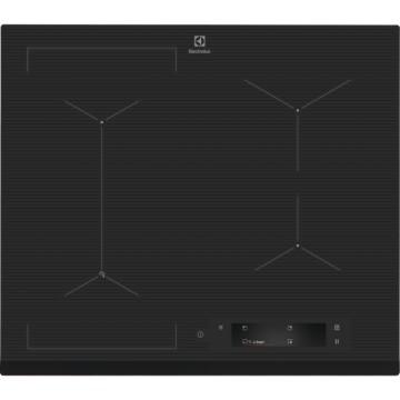Vestavné spotřebiče - Electrolux EIS6448 indukční varná deska SenseFry, Hob2Hood, tmavě šedá, 60 cm