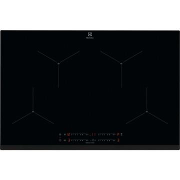 Vestavné spotřebiče - Electrolux EIS824 indukční varná deska SenseBoil, Hob2Hood, černá, šířka 80 cm