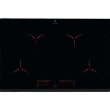 Vestavné spotřebiče - Electrolux EIP8146 indukční varná deska Pure, Hob2Hood, černá, 80 cm