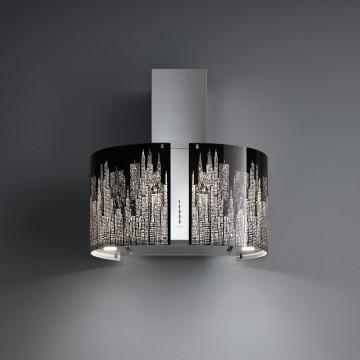 Vestavné spotřebiče - Falmec MANHATTAN/LED MIRABILIA Wall - nástěnný odsavač, 67 cm, 800 m3