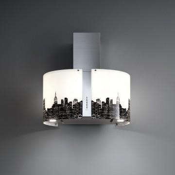 Vestavné spotřebiče - Falmec NEW YORK/LED MIRABILIA Wall - nástěnný odsavač, 67 cm, 800 m3