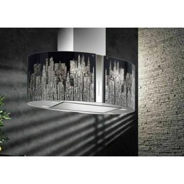 Vestavné spotřebiče - Falmec MANHATTAN/LED MIRABILIA Island - ostrůvkový odsavač, 85 cm, 800 m3/h