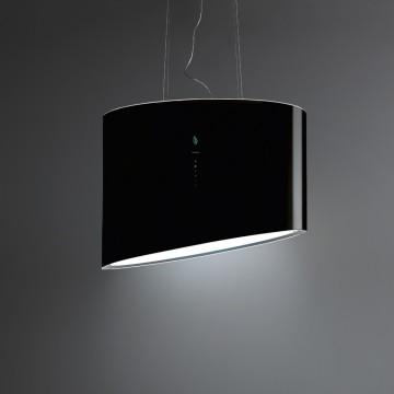 Vestavné spotřebiče - Falmec SPRING E-ION Island - ostrůvkový odsavač, 80 cm, černý, 600 m3
