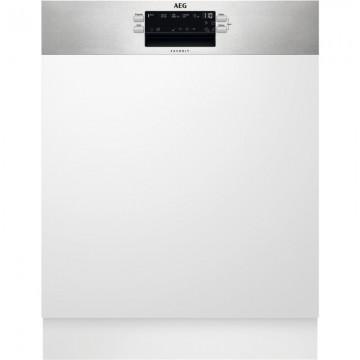 Vestavné spotřebiče - AEG Mastery FEE53670ZM vestavná myčka nádobí s panelem, AirDry, 60 cm, A+++